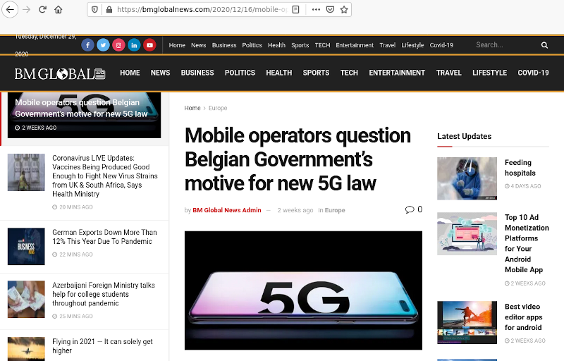 is everything a Huawei front ?