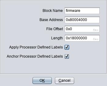 Setting load address to 0x80004000